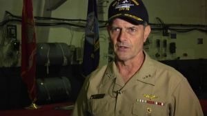 Chief of Naval Personnel Visits Yokosuka Interview