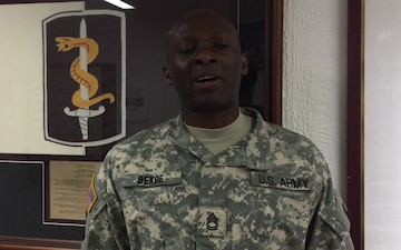 21st TSC Warrior Of the Week - 30th Medical Brigade - Jan. 14, 2016