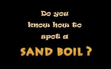 Sand Boils, Winter Flood