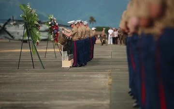 U.S. Marine Corps Honors 12 Marines in Memorial Service