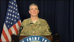Inherent Resolve Spokesman Briefs Media (Without Graphics)