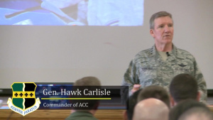 COMACC Visits Beale Air Force Base (With Graphics)