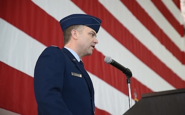 B-Roll for 153rd Airlift Wing Change of Command