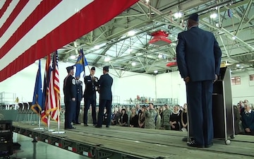 153rd AW Change of Command