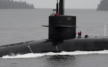 USS Henry M. Jackson Returns to Naval Base Kitsap-Bangor