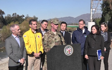 El Nino 2016: Interim Risk Reduction Measures on the LA River