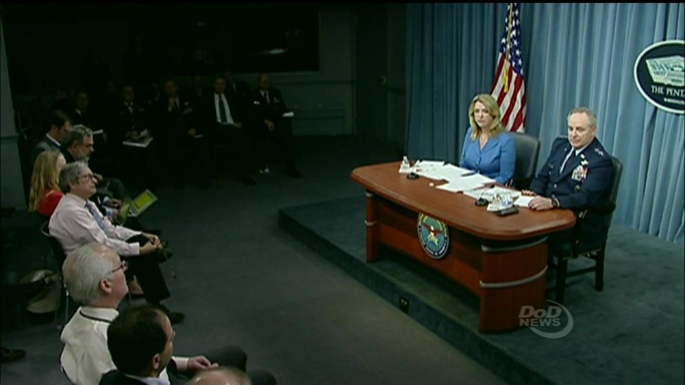 Air Force Secretary, Chief of Staff Brief Reporters