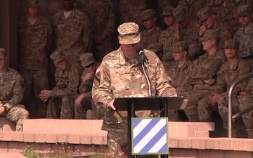 1st Armored Brigade Combat Team Colors Casing Ceremony