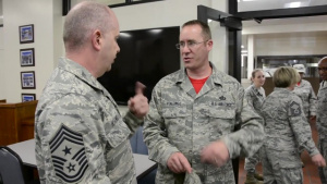NC Air National Guard Hosts ANG Command Chief