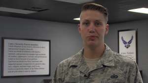 Staff Sgt. Lacey Bunkelman - 119th Wing Air Force Combatives Training