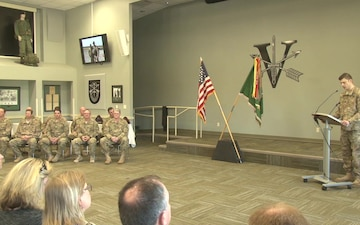 5th Special Forces Group (Airborne) Quarterly Retirement Ceremony