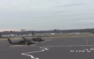 Apaches Depart Muir AAF for the Last Time