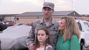 74th Expeditionary Fighter Squadron Return Home to Loved Ones