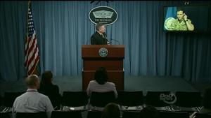 Inherent Resolve Deputy Commander Briefs Reporters