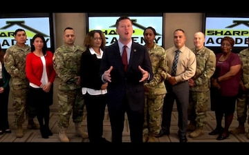 Secretary of the army SHARP Awarness Month Message