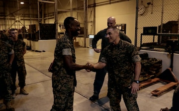 Marine Wing Support Squadron 171 Recognizes Sgt. Edet Umoren for his sacrifices in Afghanistan