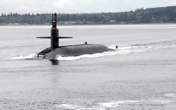USS Kentucky (SSBN 737) Returns to Naval Base Kitsap-Bangor