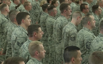 133rd Airlift Wing Change of Command