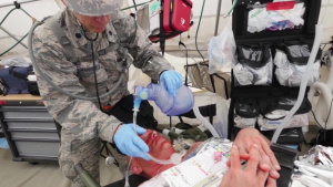 116th Medical Group, Detachment 1, Pre-EXEVAL Disaster Preparedness Exercise