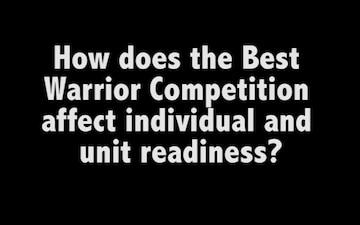 2016 Best Warrior Competition