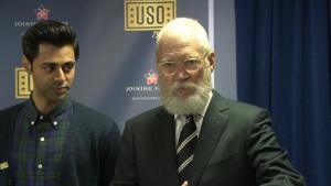 USO Comedy Show Interviews