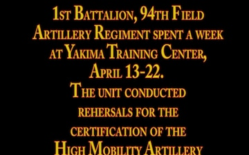 17th Field Artillery Brigade - HIMARS training spotlight