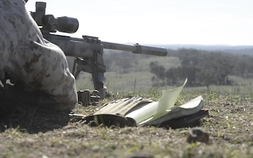 Snipers at the Australian Army Skill at Arms Meet