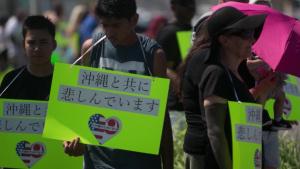 U.S. military members mourn loss of Okinawan woman