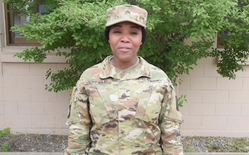 Sgt. Nafisah Joefield sends a Father's Day Greeting