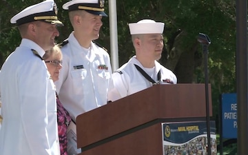 Naval Hospital Jacksonville Change of Command 2016