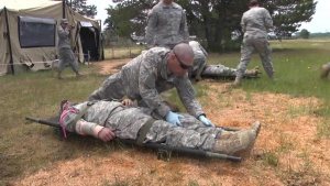 Mass casualty training during Cascadia Rising