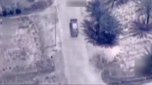 Coalition Airstrike Destroys a Da'esh VBIED