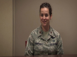 AETC First Faces: Major Tenaya Humphrey, Maxwell AFB