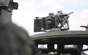 Stryker Battle in Saber Strike in Tapa Estonia