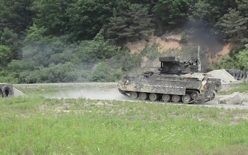 2-8 Cav Conducts Gunnery Operations in South Korea
