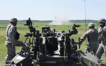 2-150 Field Artillery Annual Training 2016