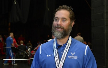 Air Force Senior Master Sergeant Paul Horton - 2016 Warrior Games Day 7 Interviews
