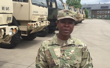 Staff Sgt. St. Brice - Sports Center 4th Of July Shout Outs