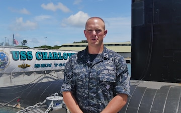 Navy Petty Officer Scott Sternisha 4th of July Shout Out