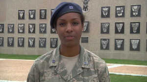 Cadet First Class Alexia Rochester - ESPN Sports Center Independence Day