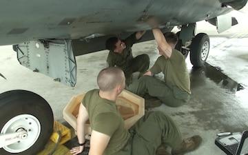 MCAS Iwakuni welcomes Marine Attack Squadron 542
