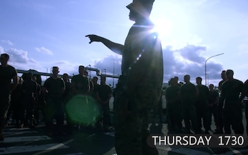 A day in the life of a squadron gunnery sergeant