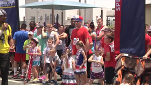 MCAS Iwakuni celebrates Fourth of July in style, with a little sweat