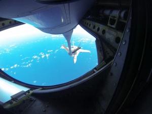 CF-18 Aerial Refueling