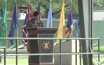 Group Support Battalion, 5th Special Forces Group (Airborne) Change of Command