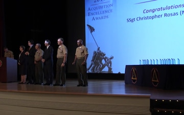 Marine Corps Systems Command Acquisitions Excellence Awards Ceremony