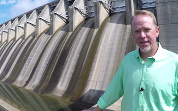 A visit to J. Strom Thurmond Dam