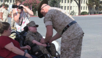 Wyatt Gillette is Awarded the Title of Honorary Marine