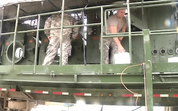 The 340th Quartermaster Company boosting morale for training