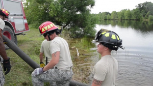 Firefighters train at Patriot Warrior